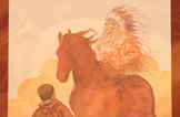 Un Cavallo per Tutti 2008 - Cena di Gala a Villa Novare - Quadro di Milo Manara